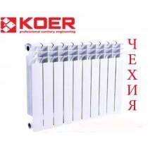 Биметаллический радиатор KOER 500/100мм ЧЕХИЯ