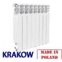 Биметаллический радиатор KRAKOW 500/80мм ПОЛЬША