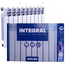 Биметаллический радиатор INTEGRAL 500/80мм КИТАЙ
