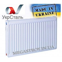 Радиатор стальной УкрСталь тип 22 500/800