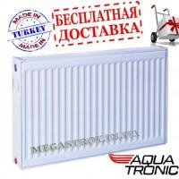 радиатор Aqua T. класс22 300H x1100L стал. Ниж. Подкл.