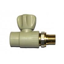 Кран радиаторный ППР 20х1/2 прямой