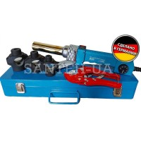 Паяльник для пластиковых труб KRAISSMANN 1350 EMS 3  (круглый)