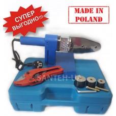 Паяльник для пластиковых труб Krakow + ножницы