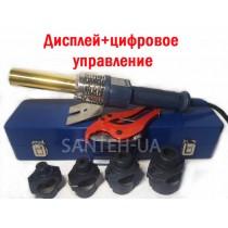 Паяльник для труб Wezer CF40-B (круглый) Цифровой
